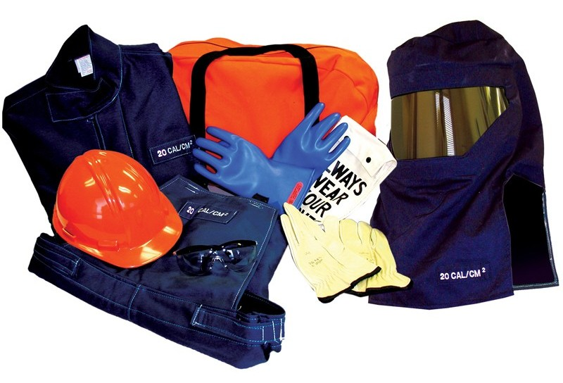 OSHA 10 Hour Safety Training Course Gear Including Gloves, Helmet, etc.